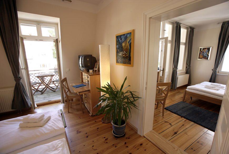 doppelzimmer no 31 villa glaeser ferienwohnungen bansin. Black Bedroom Furniture Sets. Home Design Ideas