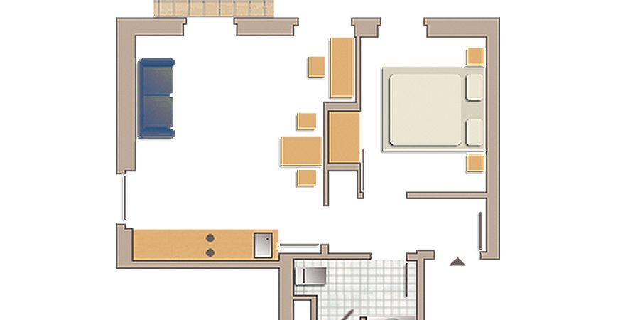 Familienappartement No 19
