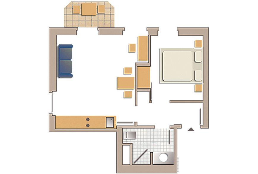 familienappartement no 19 villa glaeser. Black Bedroom Furniture Sets. Home Design Ideas